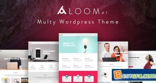 Aloom v4.2 – Responsive MultiPurpose WordPress Theme