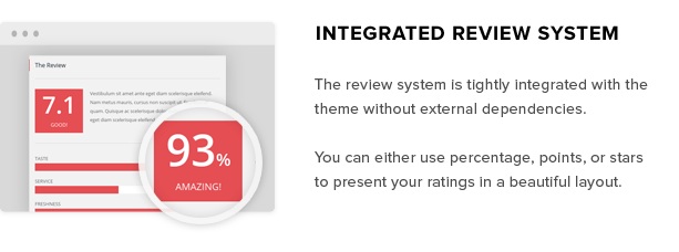 Integrated Review System for Review Sites