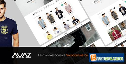 ThemeForest – Avaz v1.1 – Fashion Responsive WooCommerce WordPress Theme