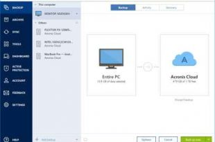Acronis True Image full 5