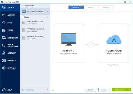 Acronis True Image full 1