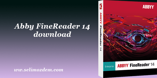ABBYY FineReader 14 Full 1