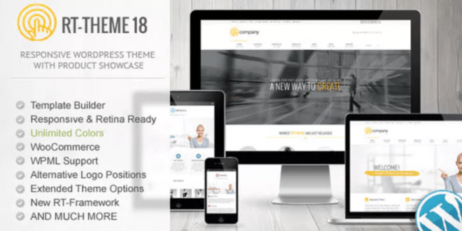 RT-Theme 18 v1.9.9.4 – Responsive WordPress Theme – Tema