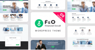 Consultant Finance WordPress Theme