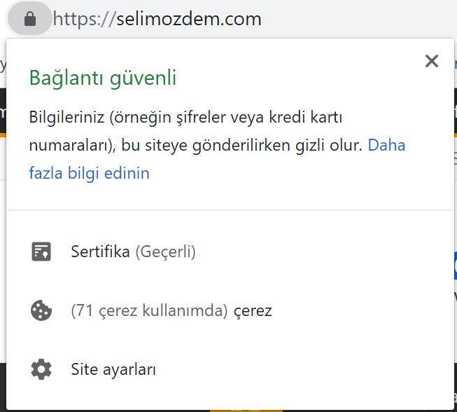wordpress ssl sertifikası 3