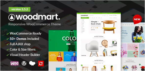 Download Free WoodMart v3.2.0 – Responsive WooCommerce WordPress Theme