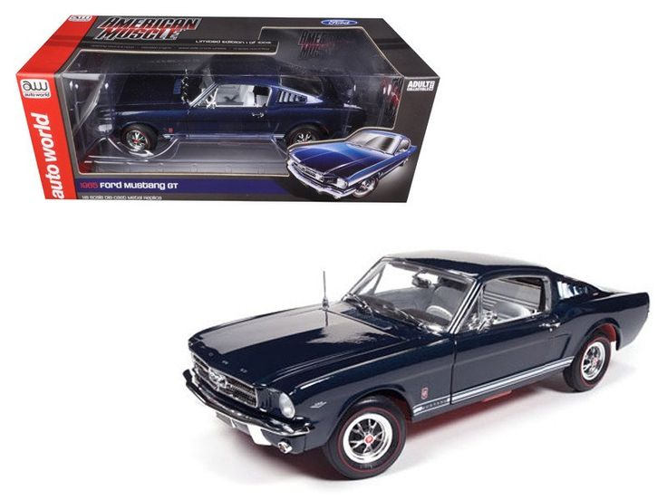 1965 Ford Mustang GT 2 2 Fastback Caspian Blue Limited