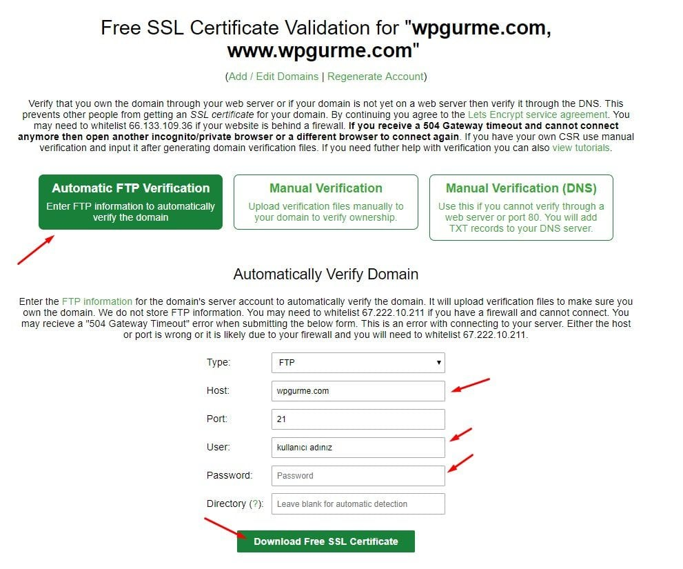 FREE For SSL FTP